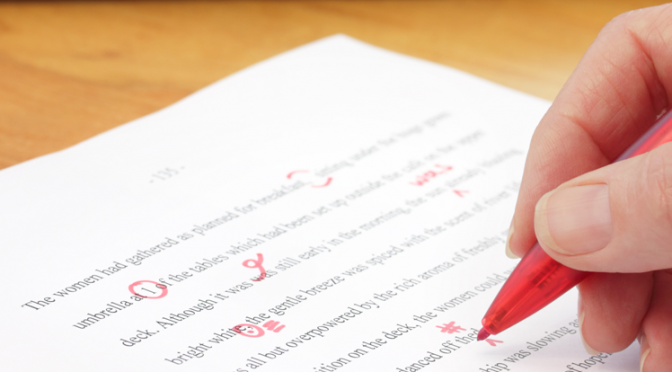 Proofreading thesis tips