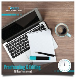 Proofreading & Editing 12 Hours