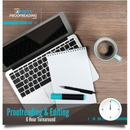 Proofreading & Editing 6 Hours