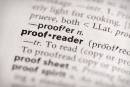 Proofreading vs Copyediting